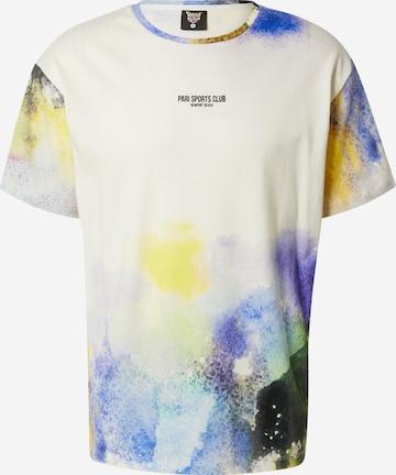 PARI T-Shirt 'SPORTS CLUB' in Weiß