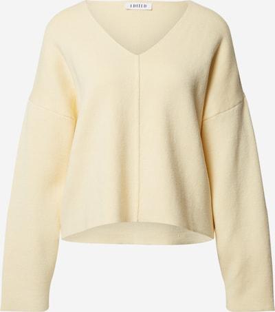EDITED Pullover 'Lia' in hellgelb, Produktansicht