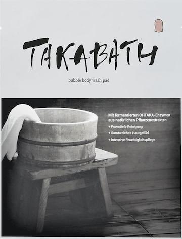 TAKABATH Pad Box 'Bubble Body-Wasch' 10Stk. in