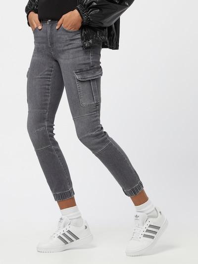 ONLY Jeans cargo 'Missouri' en anthracite, Vue avec modèle