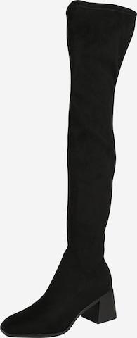 ONLY - Botas sobre la rodilla 'BIJOU-2' en negro