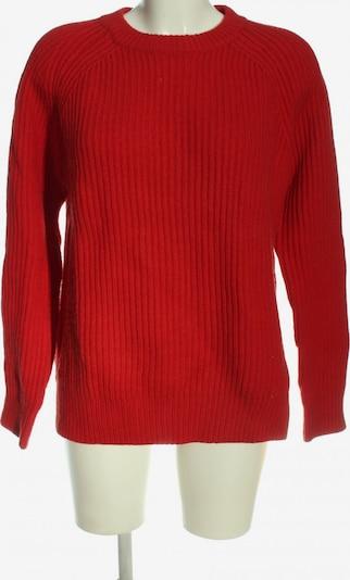 Envii Rundhalspullover in XS in rot, Produktansicht