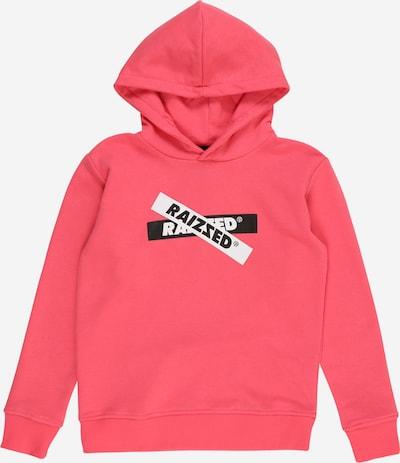 Raizzed Sweatshirt 'Valencia' in pink / schwarz / weiß, Produktansicht