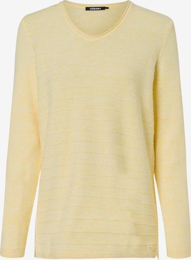 Olsen Pullover in gelbmeliert, Produktansicht