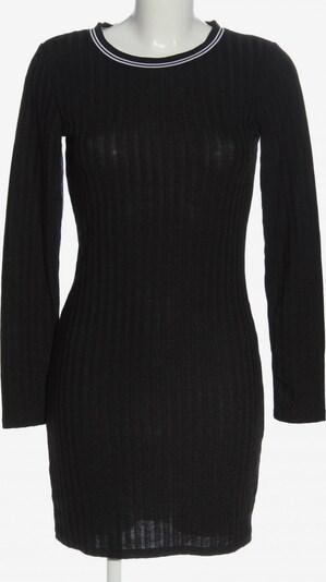 H&M Strickkleid in L in schwarz / weiß, Produktansicht