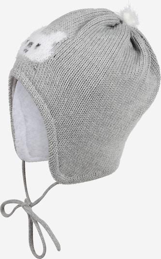 MAXIMO Mütze in grau / weiß, Produktansicht
