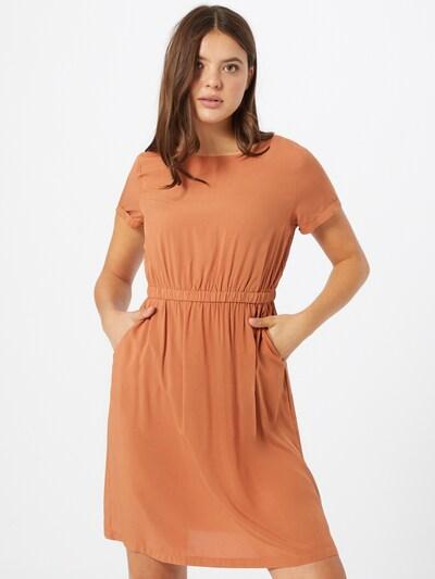 Hailys Kleid 'Denise' in hellbraun, Modelansicht