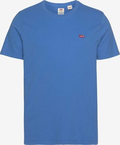Tricou LEVI'S pe albastru fumuriu / roșu, Vizualizare produs