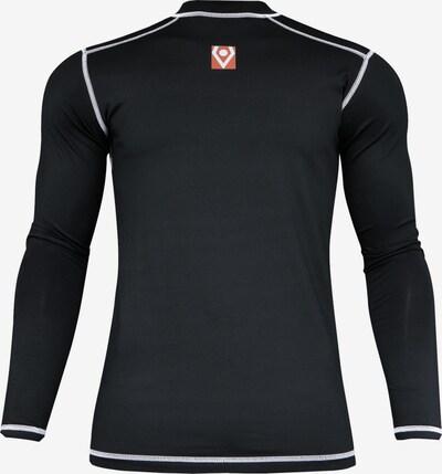 Rehab Unterhemd in grenadine / schwarz / weiß, Produktansicht