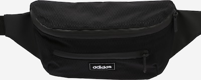 ADIDAS PERFORMANCE Sports belt bag in black / white, Item view
