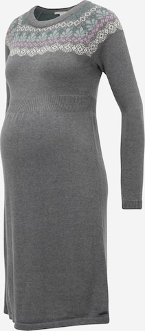 Esprit Maternity Knitted dress in Grey