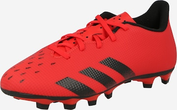 Chaussure de foot 'Predator Freak .4' ADIDAS PERFORMANCE en rouge