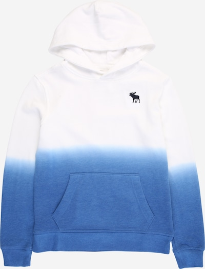 Abercrombie & Fitch Sweatshirt in royalblau / dunkelblau / weiß, Produktansicht