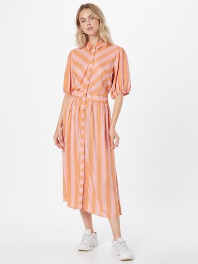 Y.A.S Kleid 'MEGGO' in sand / rosa, Modelansicht