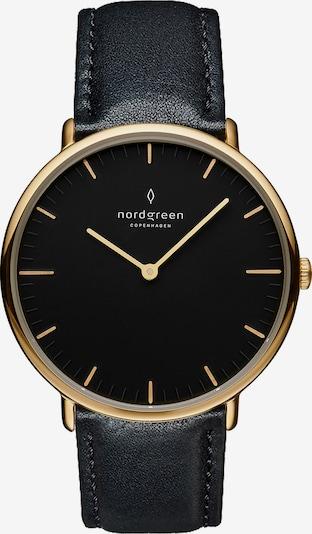 Nordgreen Nordgreen Unisex-Uhren Analog Quarz ' ' in schwarz, Produktansicht