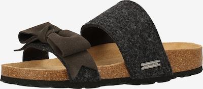 SHEPHERD OF SWEDEN Hausschuhe in schwarzmeliert, Produktansicht