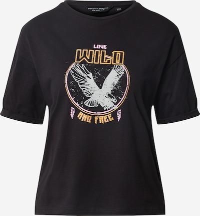 Dorothy Perkins T-shirt en or / rose / noir, Vue avec produit