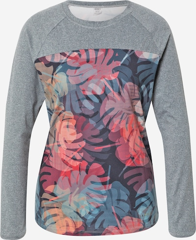 ROXY Performance Shirt 'NIGHT THOUGHTS' in Blue / mottled grey / Salmon / Pink / Black, Item view