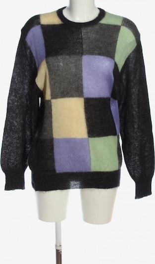 MAERZ Muenchen Wollpullover in M in grün / lila / schwarz, Produktansicht