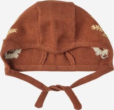 NAME IT Bonnet en beige / marron, Vue avec produit