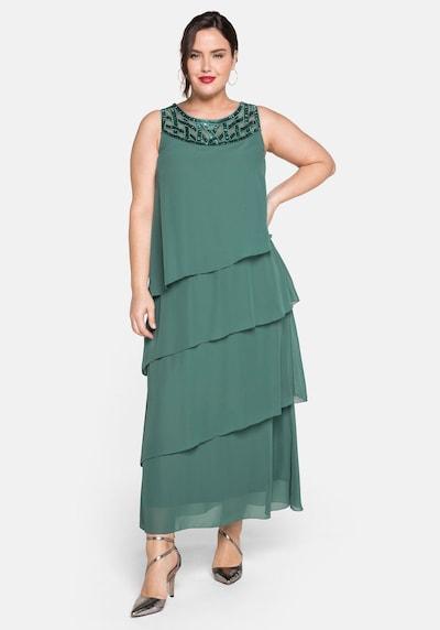 Rochie de seară SHEEGO pe smarald, Vizualizare model