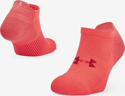 UNDER ARMOUR Sportsokken in de kleur Grijs / Pitaja roze / Framboos, Productweergave