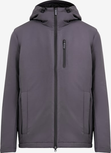 Finn Flare Functionele jas in de kleur Donkergrijs, Productweergave