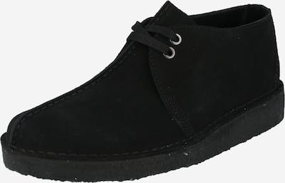 Clarks Originals Schnürschuh 'Desert Trek' in schwarz, Produktansicht