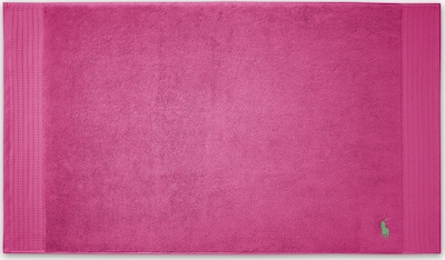 RALPH LAUREN Badematte 'POLO PLAYER' in hellgrün / pink, Produktansicht