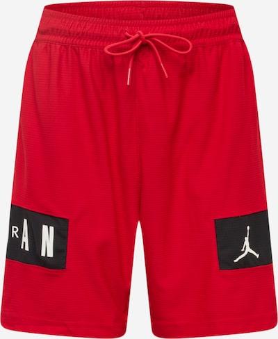 Jordan Pantalon de sport en rouge / noir / blanc, Vue avec produit
