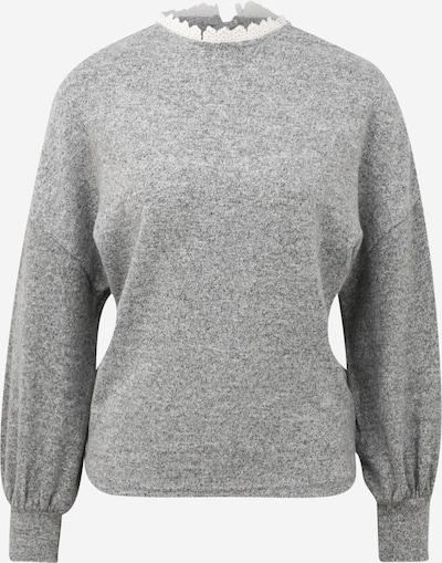 Dorothy Perkins Sweatshirt in grau / weiß, Produktansicht