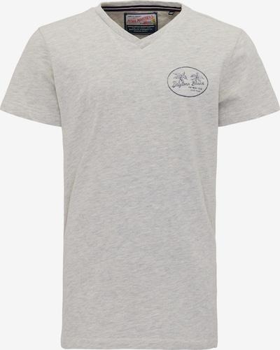 Petrol Industries T-Shirt in dunkelblau / graumeliert, Produktansicht