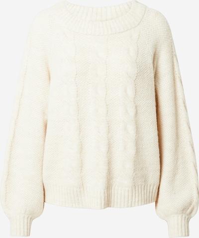 PIECES Pullover 'Helby' in weiß, Produktansicht
