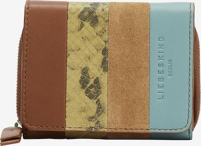 Liebeskind Berlin Porte-monnaies en beige / bleu clair / marron / noir, Vue avec produit