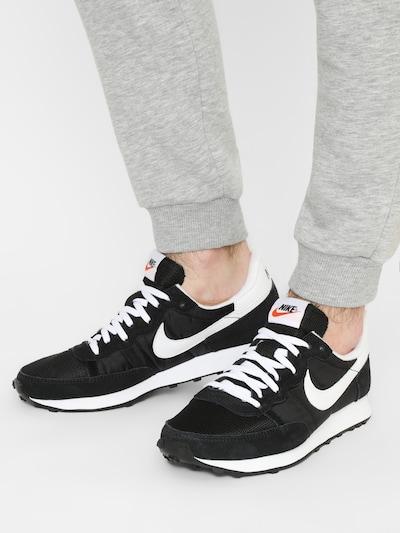 Nike Sportswear Sneaker 'Nike Challenger OG' in schwarz / weiß: Frontalansicht