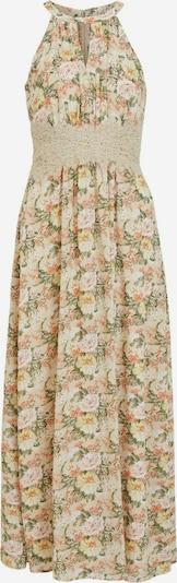 VILA Robe de soirée en mastic / vert clair / rose / blanc, Vue avec produit