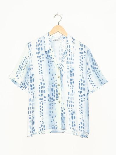 Barisal Bluse in L-XL in blau, Produktansicht