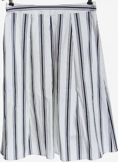 L.K.Bennett Faltenrock in L in schwarz / weiß, Produktansicht