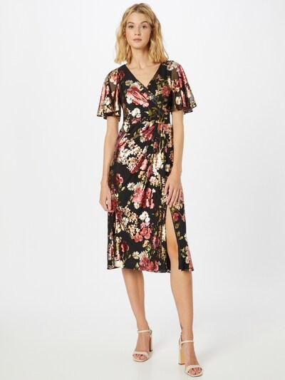 Adrianna Papell Kleid in oliv / pitaya / altrosa / schwarz / weiß, Modelansicht
