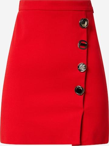 PINKO - Falda en rojo