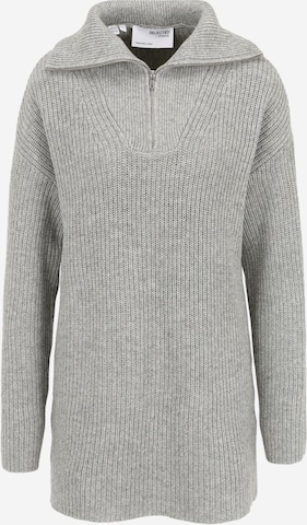 Pull-over Selected Femme Tall en gris