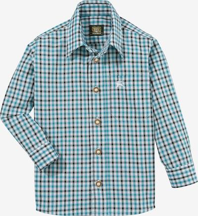 OS-TRACHTEN Trachtenhemd in türkis, Produktansicht
