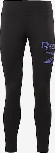 REEBOK Športové nohavice 'Safari' - modrá / čierna, Produkt