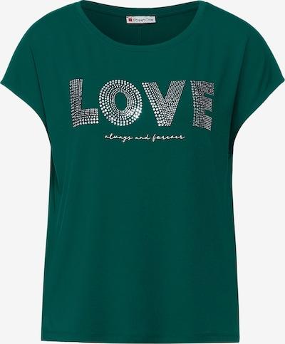 STREET ONE Tričko - zelená / průhledná, Produkt