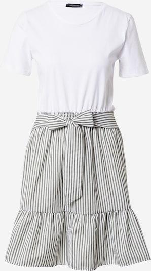 Trendyol Kleid en grau / weiß, Vue avec produit