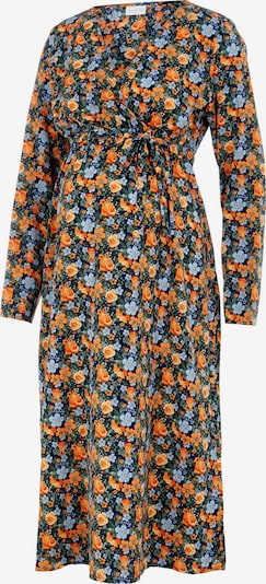 MAMALICIOUS Kleid 'MLSIGA' in himmelblau / hellblau / hellgrün / orange, Produktansicht