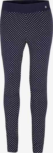 TOM TAILOR Leggings in de kleur Navy / Wit, Productweergave