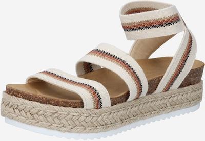 STEVE MADDEN Sandalen in beige / braun, Produktansicht