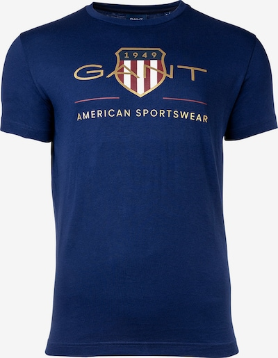 GANT T-Shirt en bleu, Vue avec produit