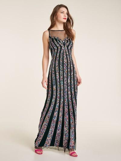 heine Abendkleid in mischfarben / schwarz, Modelansicht